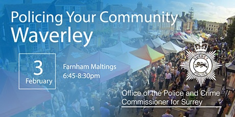 Policing your Community - Waverley Open Engagement Meeting tickets