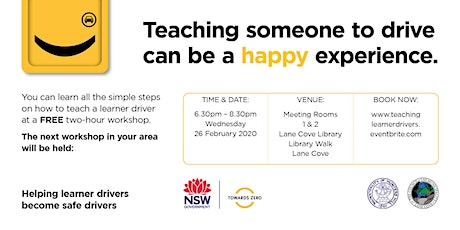 Teaching Your Learner Driver Workshop tickets