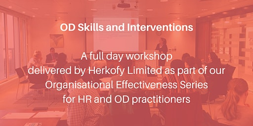 OD skills and Interventions with Anna Herko