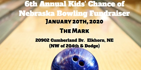 SPONSORSHIPS for 6th Annual Bowling Fundraiser tickets