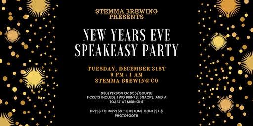 New Years Eve Speakeasy at Stemma