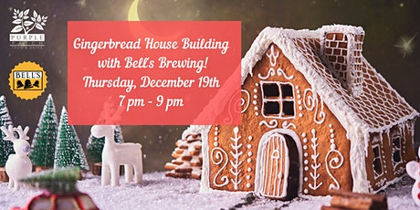 Gingerbread House Building with Bell's Brewing! tickets