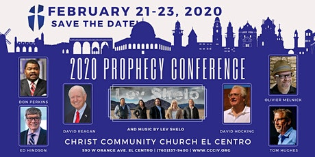 2020 Prophecy Conference at Christ Community Church entradas