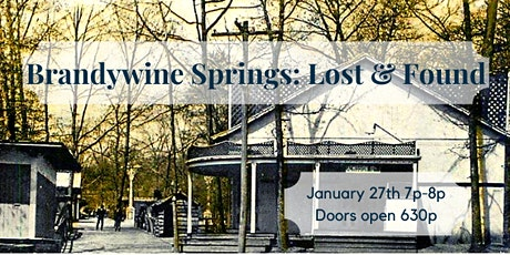 Brandywine Springs Lost & Found tickets