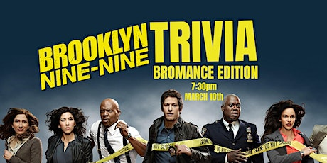 Brooklyn Nine-Nine Trivia - March 10, 7:30pm CBH Grasslands tickets