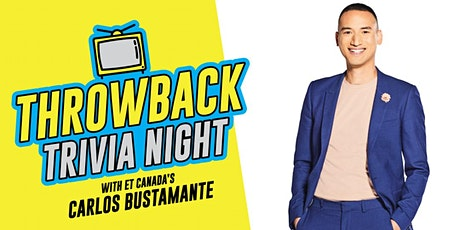 Throwback Trivia Night ft. Carlos Bustamante tickets