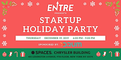 Startup Holiday Party at Spaces NYC tickets