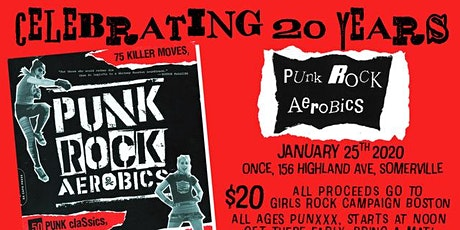 Punk Rock Aerobics GRCB Fundraiser tickets