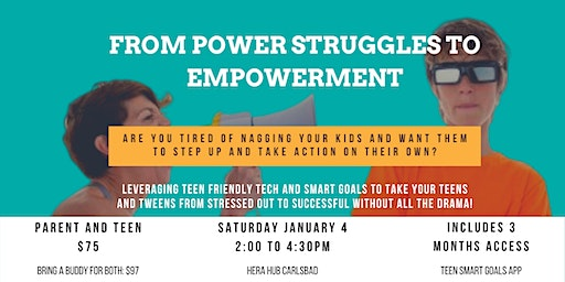 From Power Struggle to Empowerment with SMART Goals for Teens