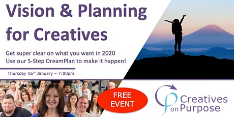 Creatives on Purpose - VISION & PLANNING FOR CREATIVES - January 2020 tickets