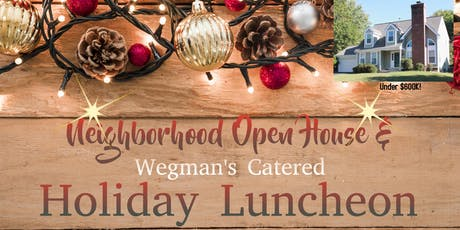 Holiday Catered Lunch and Open House tickets