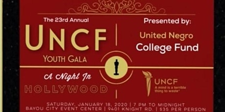 23rd Annual UNCF Youth Gala tickets