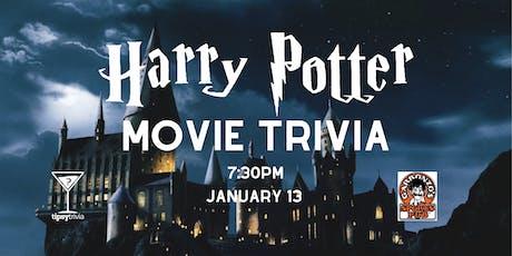 Harry Potter Movie Trivia - Jan 13, 7:30pm - Garbonzo's tickets