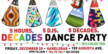 Decades Dance Party - Holiday Edition tickets