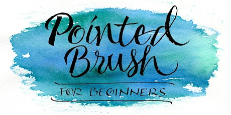 Pointed Brush Calligraphy for Beginners tickets