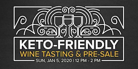 Keto-Friendly Wine Tasting & Pre-Sale tickets