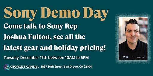 Sony Demo and Trade-in Event!