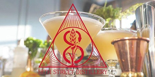 Pairing Dinner with 18th Street Distillery