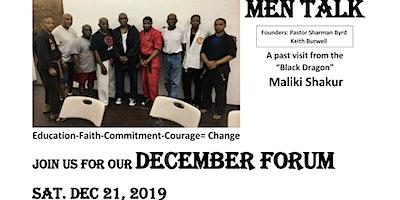 MEN TALK Forum Bed/Stuy