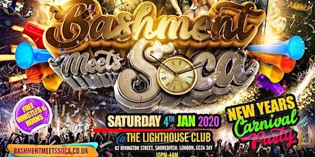 Bashment Meets Soca - Shoreditch Carnival tickets