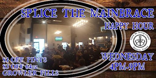 Splice the Main Brace Happy Hour!!