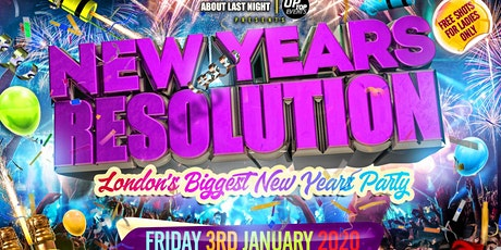New Years Resolution tickets