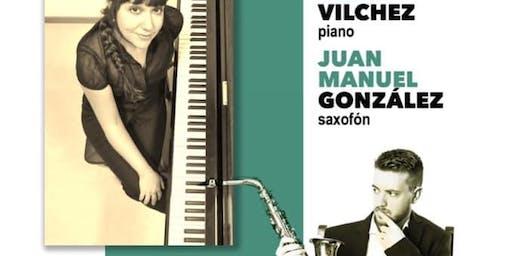 Recital de música francesa: Rocío Vilchez, piano-Juan Manuel González, saxo