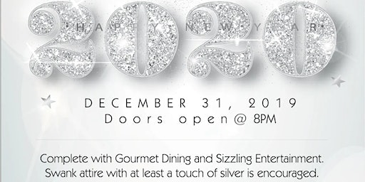 New Years Eve Shimmer Of Silver