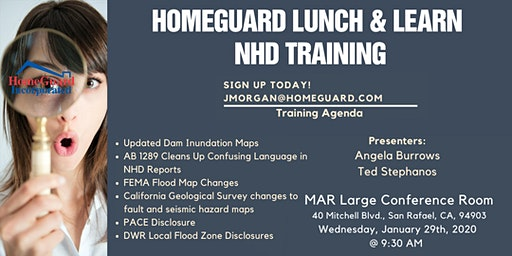 HomeGuard NHD Training - Breakfast & Learn