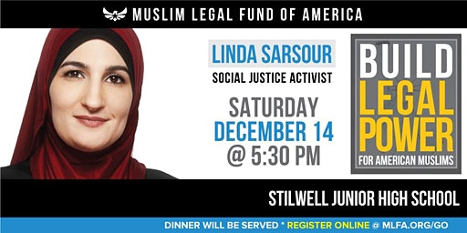 Build Legal Power for American Muslims with Linda Sarsour - Des Moines, IA
