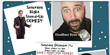 Saturday Night Standup December 21 tickets