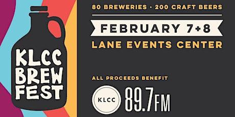 KLCC Brewfest 2020 tickets