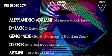 Dance Mekanik & Activities Rec w/ Alessandro Adriani & D-Jack tickets