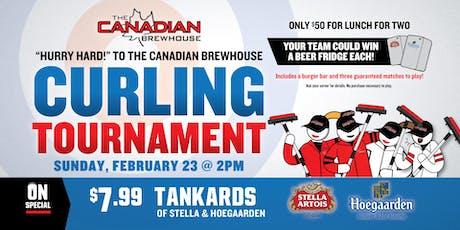 Fort Saskatchewan Curling Tournament! tickets