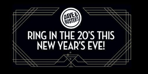 Dave & Buster's Bowling Into the 20's New Year's Eve Party!
