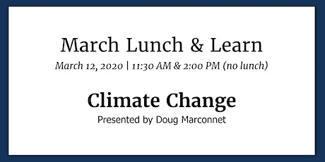 Lunch & Learn: Climate Change tickets