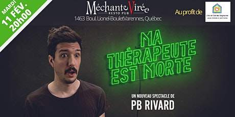 Spectacle d'humour de PB Rivard au profit de l'Arc-en-ciel des Seigneuries tickets