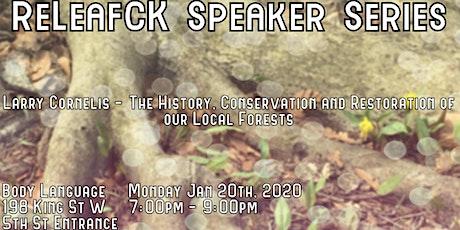 ReLeafCK Speaker Series - Larry Cornelis tickets