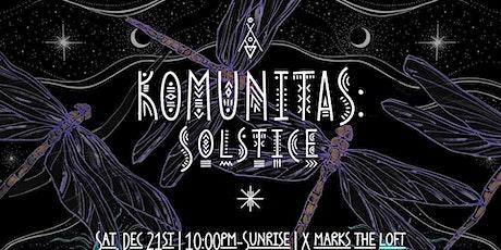 KoMunitas: Solstice tickets