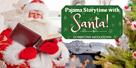 Pajama Storytime with Santa tickets