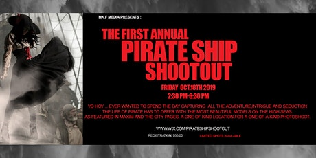 THE PIRATE SHIP SHOOT OUT tickets