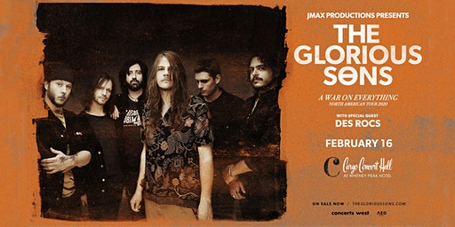 Glorious Sons at Cargo Concert Hall