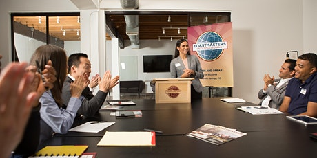 Toastmasters - Data Center Club tickets