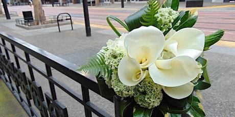 Wedding Designs - DIY Bouquet tickets