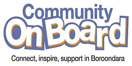 2020 Community OnBoard tickets