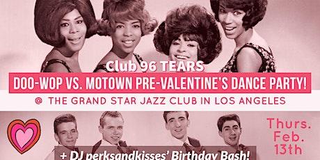 Doo-wop VS. Motown Pre-Valentine's Dance Party! tickets