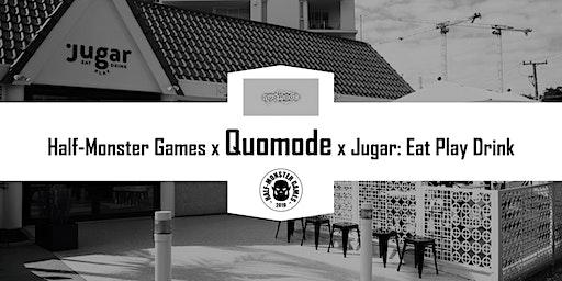 HMG x Quomode x Jugar - Featured Designer Event