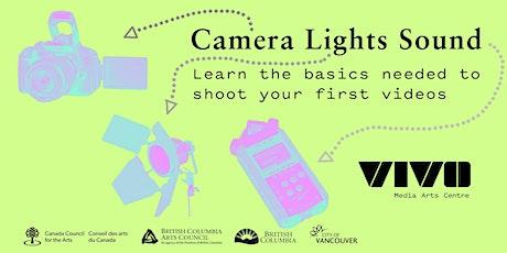 Camera Lights Sound with Alysha Seriani tickets