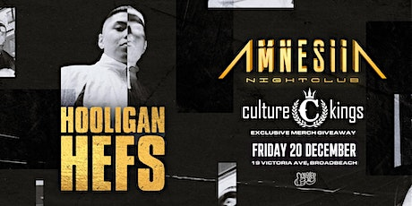Hooligan Hefs Show at Amnesiia tickets