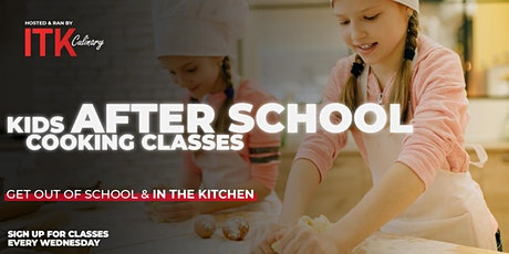 Kids After School Classes - Wednesdays 2:30pm - 5:30pm tickets